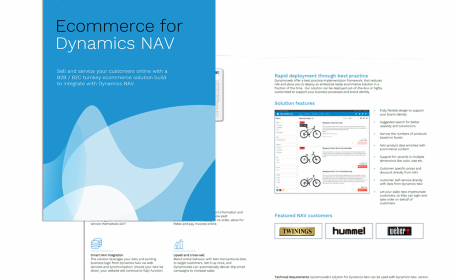 B2B/B2C ecommerce for Dynamics NAV